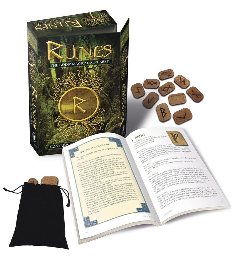 Runes - The God's Magical Alphabet