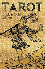 Tarot black and gold