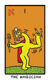 Keith Haring - World in Colours Tarot Deck