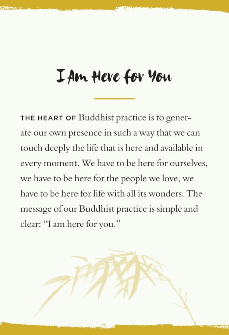 Everyday Peace Cards - Thich Nhat Hanh