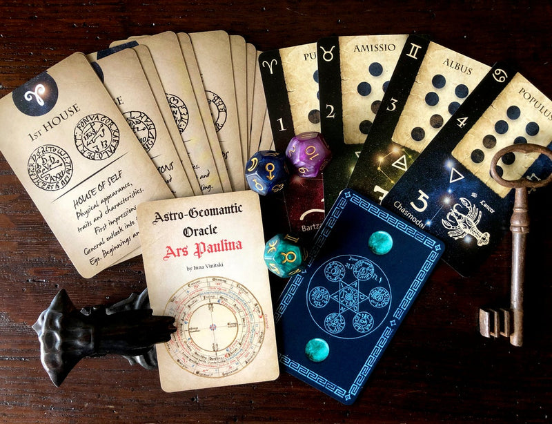 Geomantic Cards: Astro Geomantic Oracle