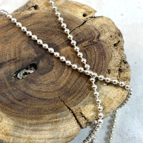 Silver Ball Chains