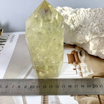 Lemon Quartz Crystal Point 12cm