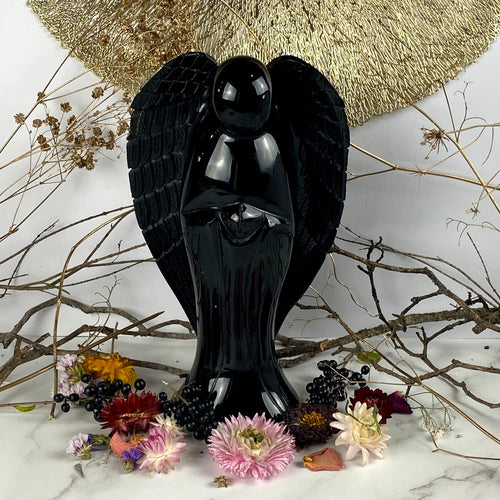 Black Obsidian Angel
