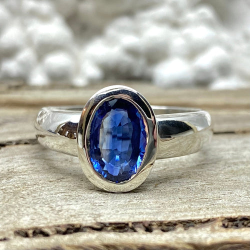 Kyanite Oval Ring