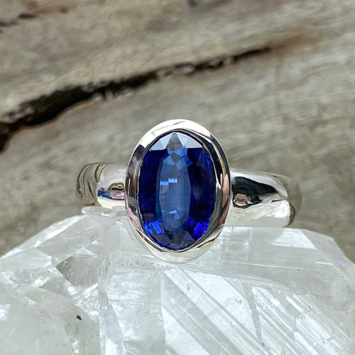 Oval Kyanite Ring