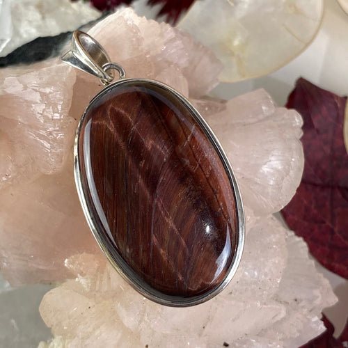 Red Tiger's Eye Cabochon