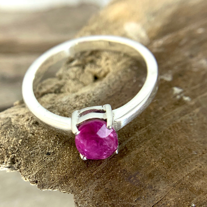 Ruby Oval Ring
