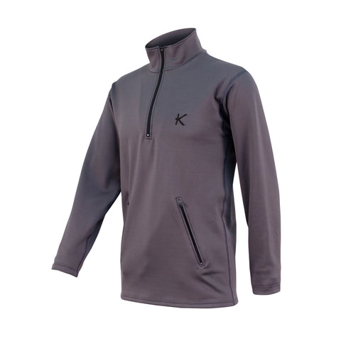 Men's Half Zip Fleece - kymiramedical