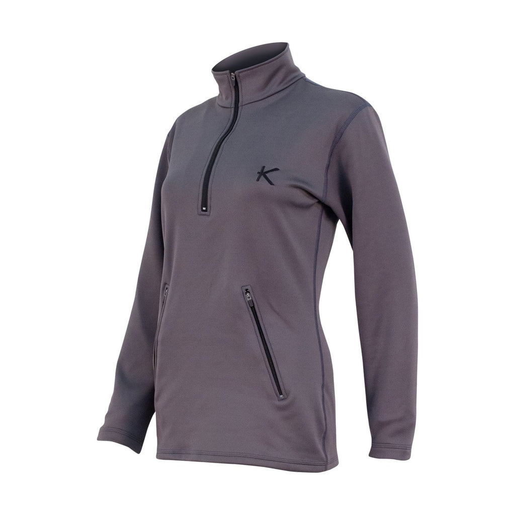 Women's IR Half Zip Fleece - kymiramedical