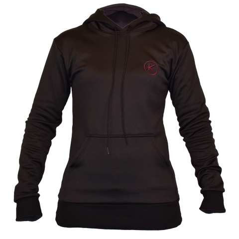 Women's Infracycle Hoody, Onyx Black - kymiramedical