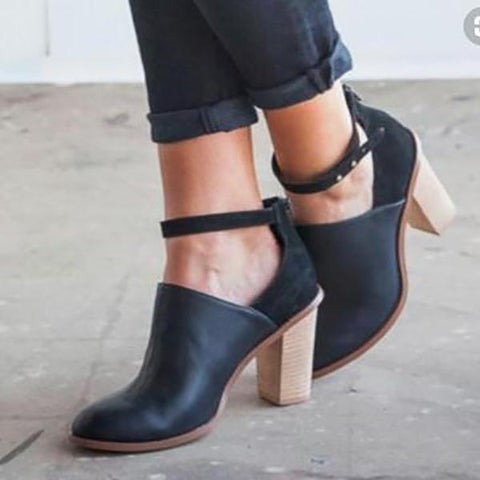 Fashion Solid Color High Heel Shoes