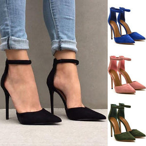 Fashion Pointed Shallow Mouth High Heel Sandals