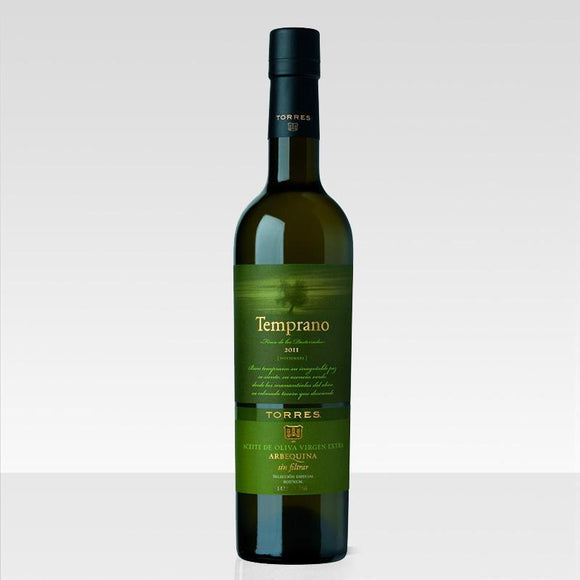 Temprano unfiltered olive oil de Torres