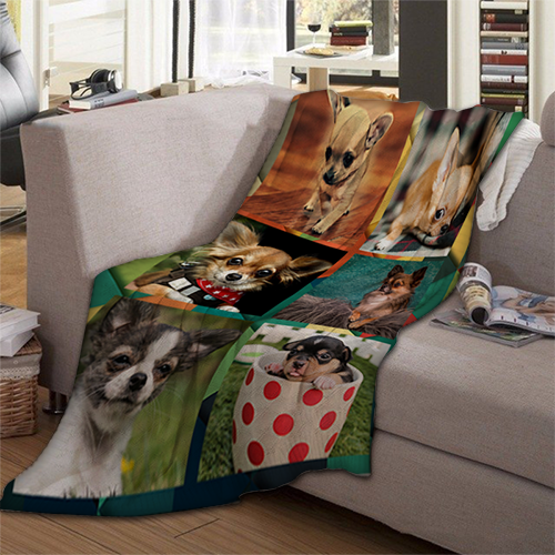Plush Fleece Blanket Vertical - 50 x 60