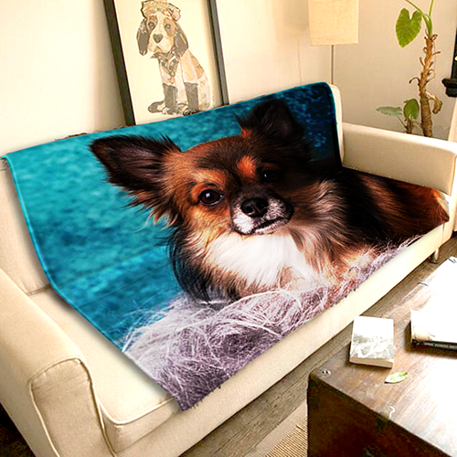 Pet Photo - Fleece Blanket - 50 x 60