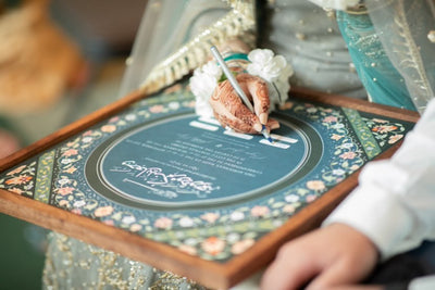 Displaying, Framing and Caring for your nikahnama