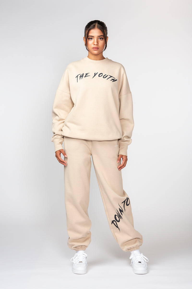 Nude Youth College Crewneck