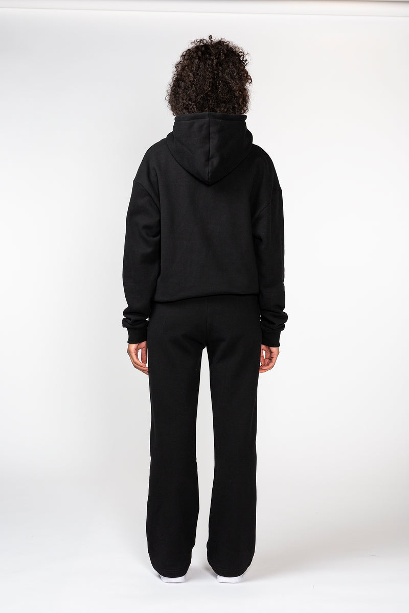 Black French Terry Pant
