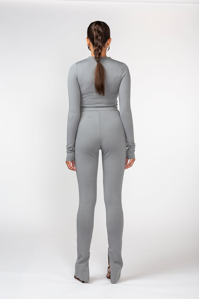 Studio Grey High Rise Split Leggings