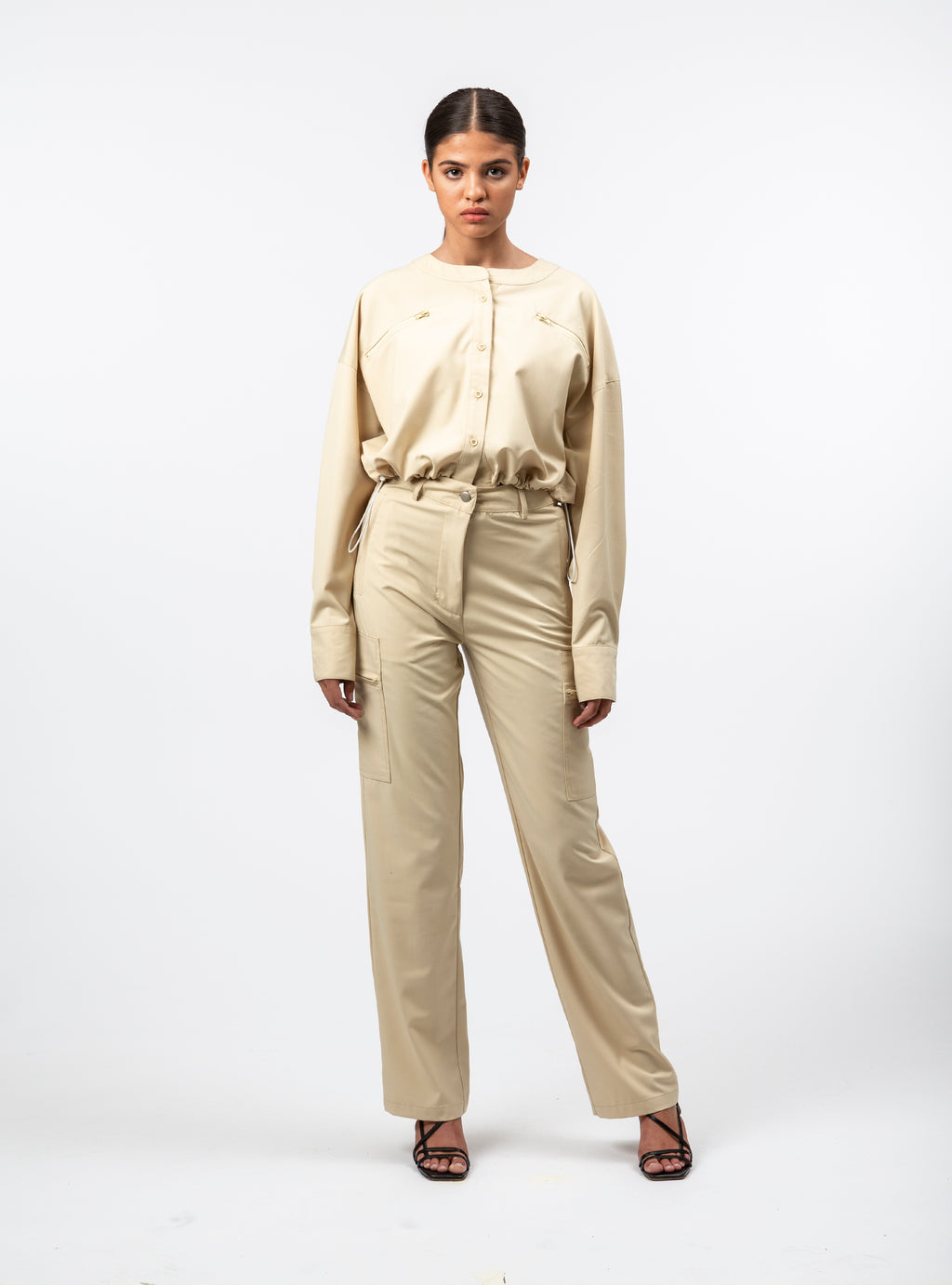 Novara Straight-Leg Pants