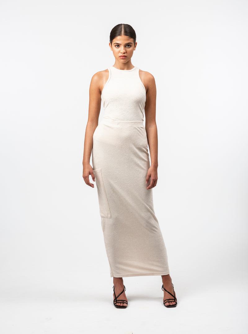 Ardiana Fitted Long Skirt