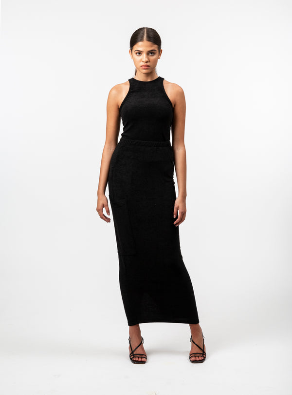 Nora Fitted Long Skirt