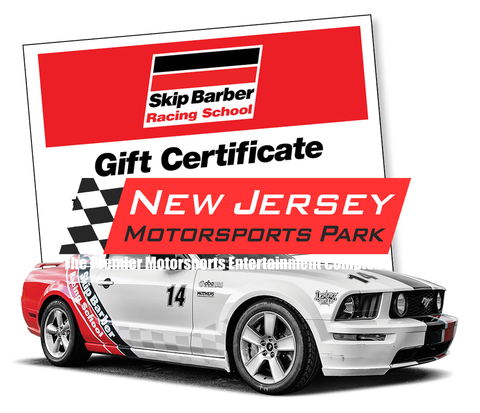 NJMP ONLY Gift Certificate