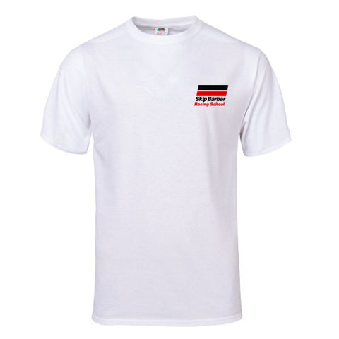 Skip Barber Racing School White T-Shirt