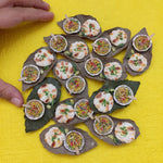 Delhi Special- Miniature Kulcha Matar Food Magnet- Indian Miniature Food- Unique Food Magnets- Housewarming Gifts