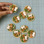 Idli Vada Sambhar Miniature Cute Fridge Magnet South Indian Breakfast Miniature Unique Mini Food Magnet