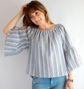 See By Chloe Blouse with Bell Sleeves