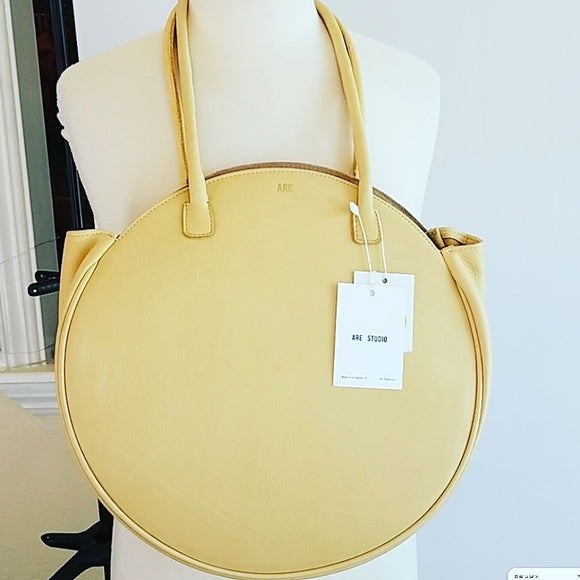 Are Studio Compass Bag in Blonde