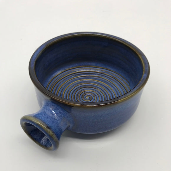 Christian Andersen Pottery Shaving Bowl