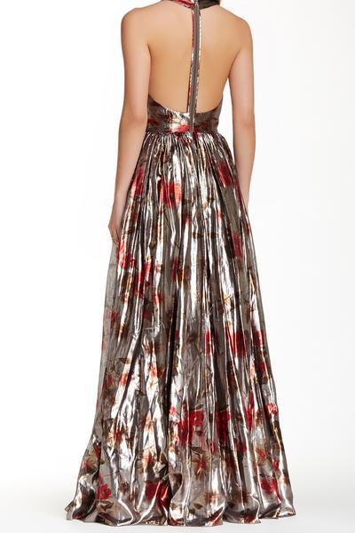Alice and Olivia Silk maxi Dress