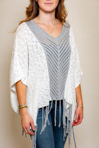 Indigenous Designs Organic Cotton Poncho