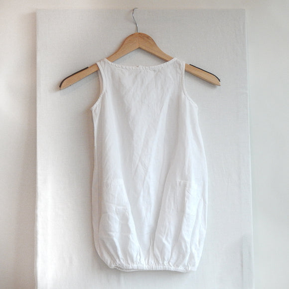 Goat Milk Linen Dress
