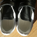 Isabel Marant Velcro Closure Suede Sneakers