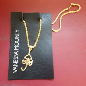 Vanessa Mooney Wyclef Scorpion Necklace