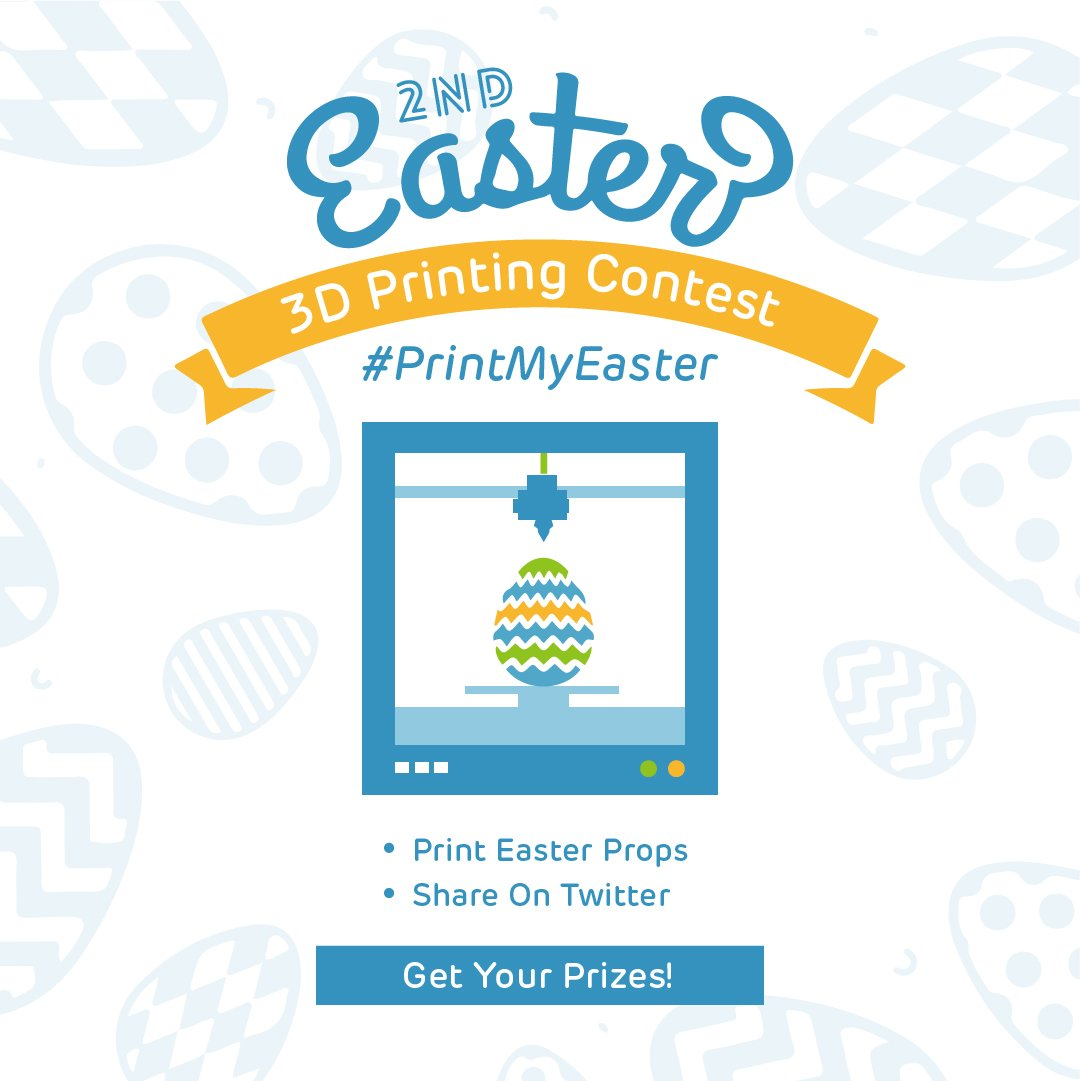 SainSmart 2nd Annual Easter 3D Printing Contest