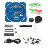 Rotierend LED Elektronische Digitaluhr DIY Kit