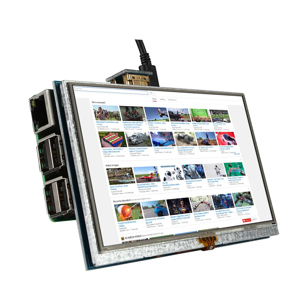 SainSmart 5 Zoll 800x 480 Touch Screen Bilschirm Raspberry Pi