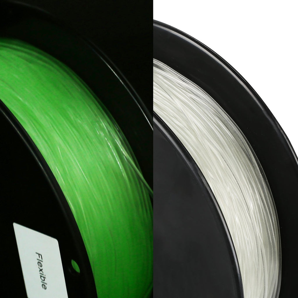 Flexibel TPU Filament glühend 1.75mm 1kg/2.2lb