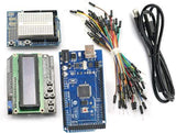 Arduino Kit MEGA 2560 + LCD Shield + Prototype Shield