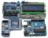 UNO + Xbee + V5 Sensor Shield +1602 LCD Starter Kit