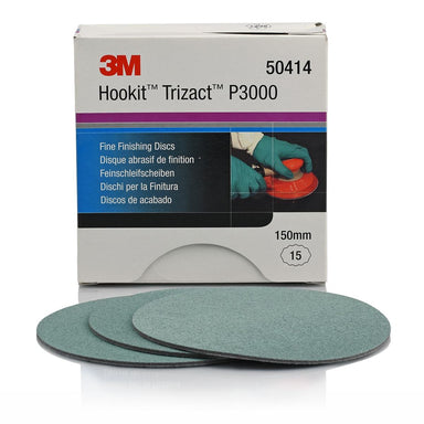 3M Trizact P3000 Fine Finishing Disc 150mm