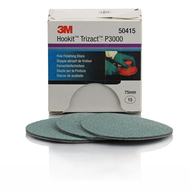 3M Trizact P3000 Fine Finishing Disc 75mm
