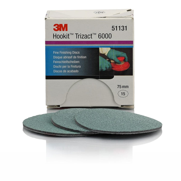 3M Trizact P6000 Fine Finishing Disc 75mm