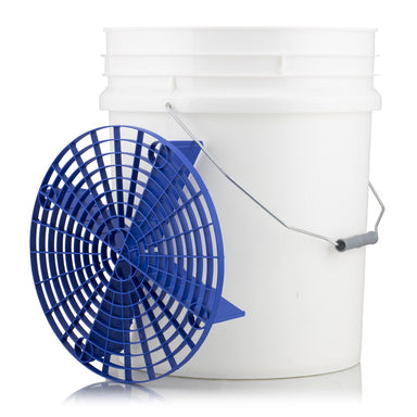 Wash Bucket with Blue Grit Guard