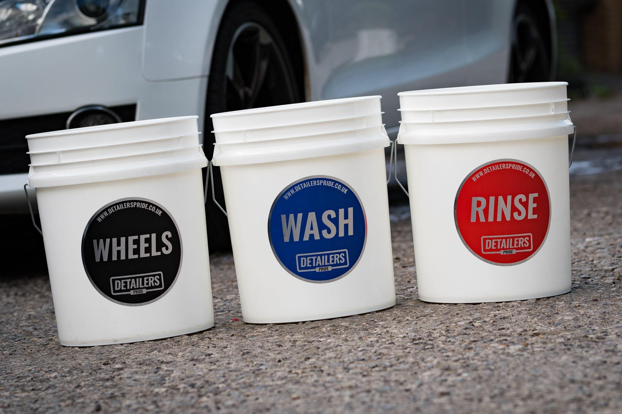 Wash Bucket Stickers